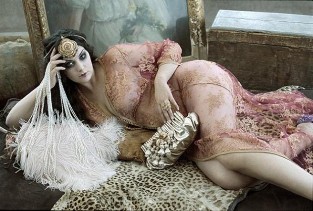 ג'ואנה דריי, מגזין גאלה 2008. צילום: פטריק סווירק
