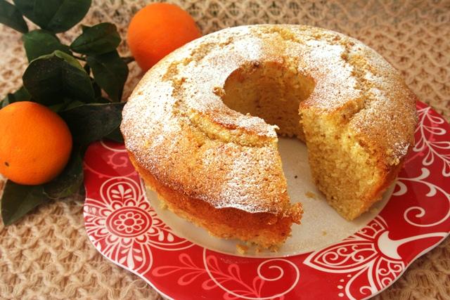 עוגת תפוזים משלושה קמחים