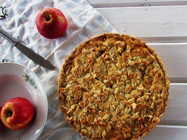 פאי תפוחים ללא סוכר
