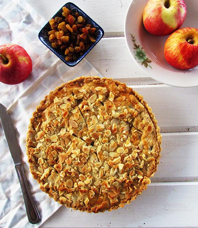 פאי תפוחים כמעט בלי סוכר