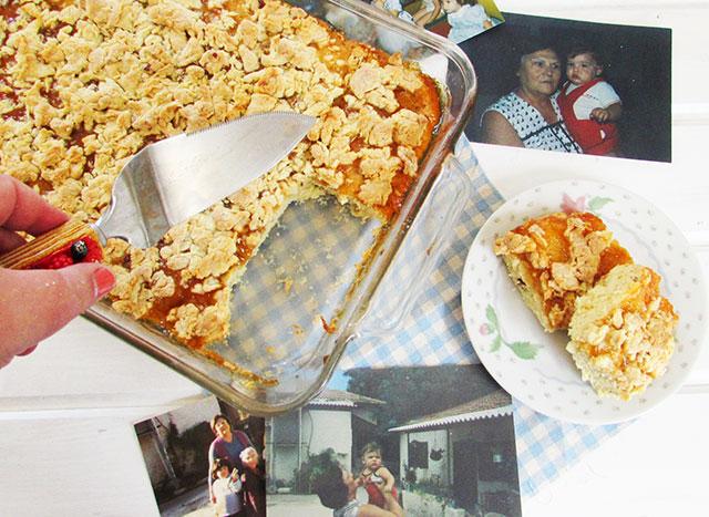 עוגת הפירורים של סבתא עליזה